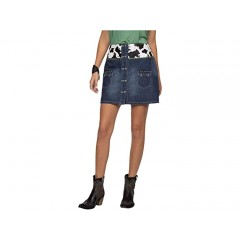 Double D Ranchwear Wow Cow Baby Skirt