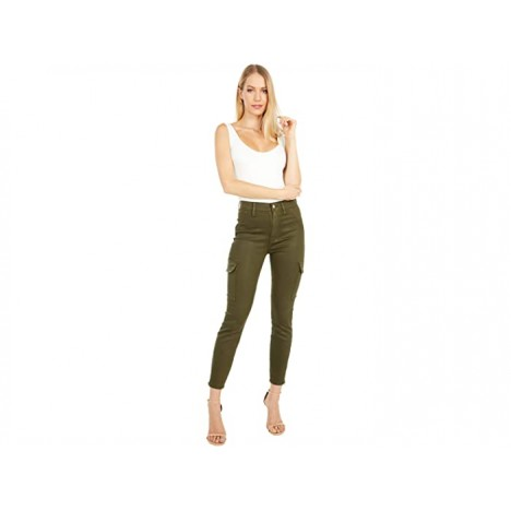 7 For All Mankind Skinny Cargo in Army Coated