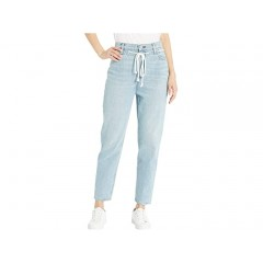 Hudson Jeans Elly High-Rise Tapered Crop in Skylines