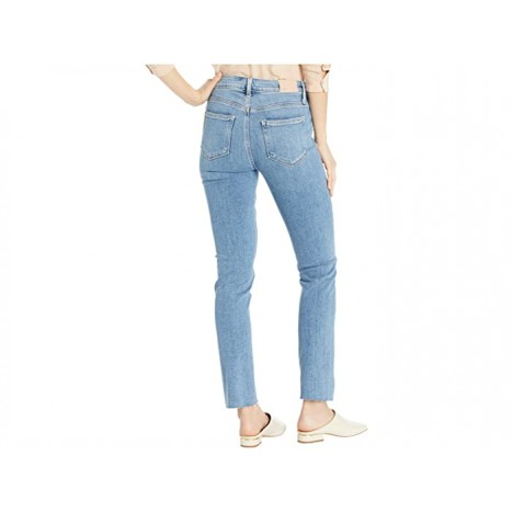 Paige Hoxton Slim Jeans w Twisted Seam and Raw Hem in Florencia