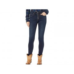 Rock and Roll Cowgirl Denim High-Rise Skinny in Dark Vintage WHS3440