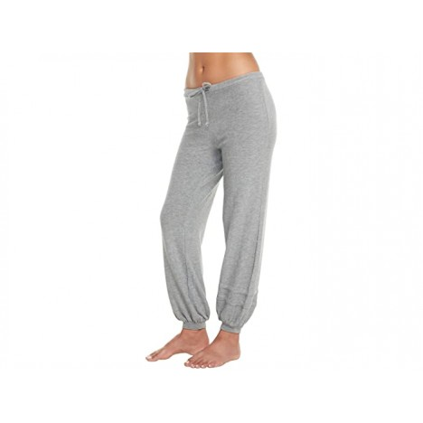Chaser Cozy Knit Blouson Leg Joggers with Strappings