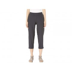 Eileen Fisher Lightweight Washable Stretch Crepe Tapered Ankle Pants