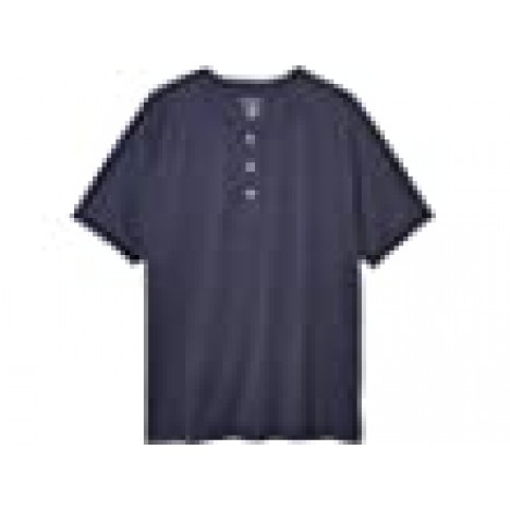 The Normal Brand Short Sleeve Active Puremeso Henley