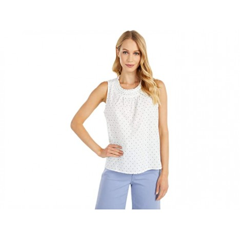 Lucky Brand Smocked Woven Tank Top