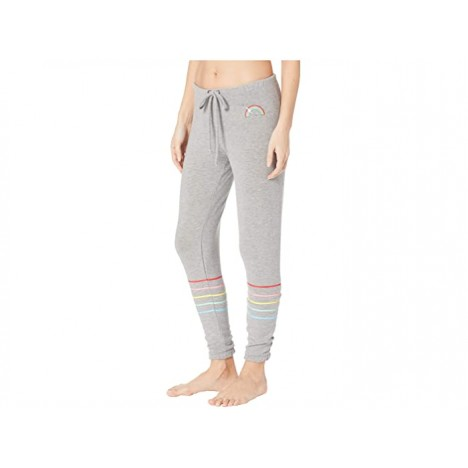 Chaser Rainbow Bolt Cozy Knit Lounge Pants