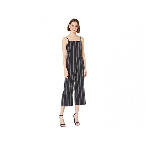 Cupcakes and Cashmere Avery Striped Jumpsuit